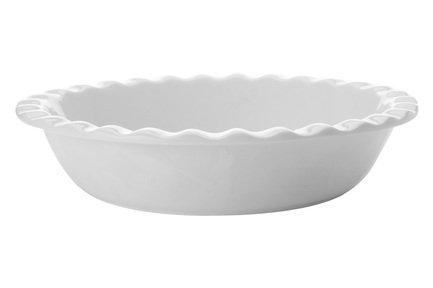 Блюдо круглое для запекания Белая коллекция, 26 см, белое MW602-AA5837 Maxwell & Williams