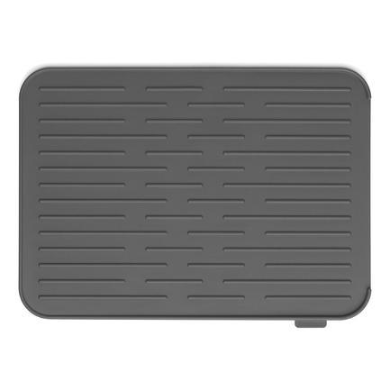 Силиконовый коврик для сушки посуды, темно-серый 117442 Brabantia недорого