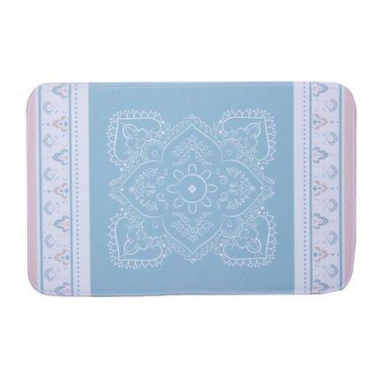 Коврик для ванной Ethnic, 70x45 см, синий
