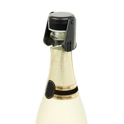 Пробка для шампанского, 7.5х4.5х13.5 см, черная 6627NN01 Koala пробка для шампанского vacuvin