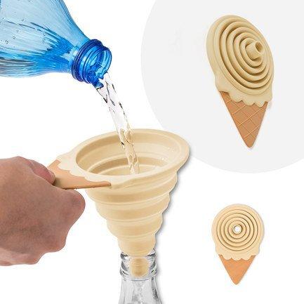 Воронка для бутылки Gelato, 13.8х8.5х2.5 см, магнитная, ваниль