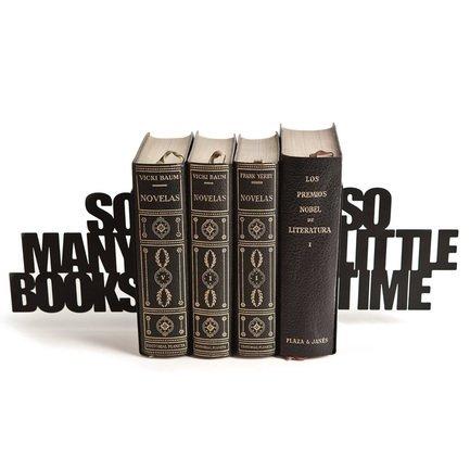 Держатель для книг So many!, 15х21.5х8 см, черный 25332 Balvi