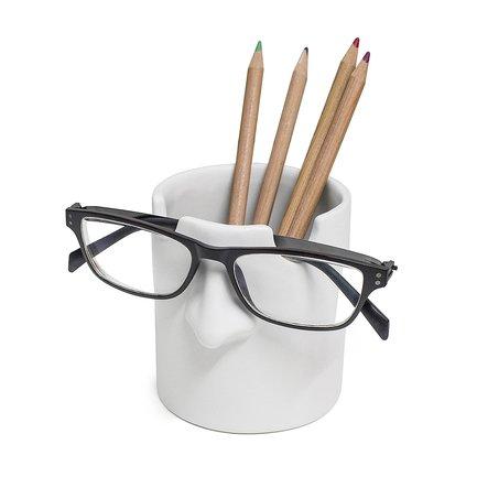 Держатель для ручек и очков Mr. Tidy, 8.6х9.5х10 см, белый 26749 Balvi стоимость