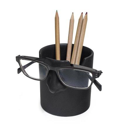 Держатель для ручек и очков Mr. Tidy, 8.6х9.5х10 см, черный 26748 Balvi стоимость