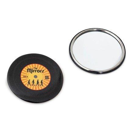 Зеркало карманное The Mirrors, 7х7 см, желтое 25685y Balvi
