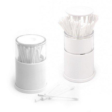 Контейнер для ватных палочек Pop-up, 7х10.5 см, белый 25214 Balvi