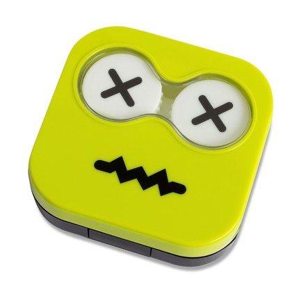 Набор для контактных линз Emoji, 6.5х6.7х2 см, зеленый, 4 пр. 26344 Balvi цена 2017