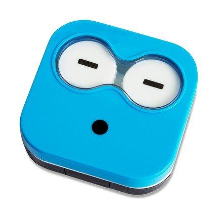 Набор для контактных линз Emoji, 6.5х6.7х2 см, синий, 4 пр. 26341 Balvi цена 2017