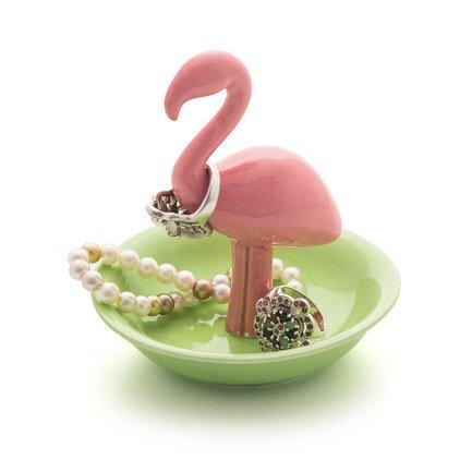 Подставка для украшений Flamingo, 10х11 см, розовая 26638 Balvi аксессуары для мебели balvi подставка для украшений unicorn xl