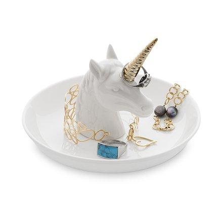 Подставка для украшений Unicorn XL, 15х11 см, белая 26436 Balvi аксессуары для мебели balvi подставка для украшений unicorn xl