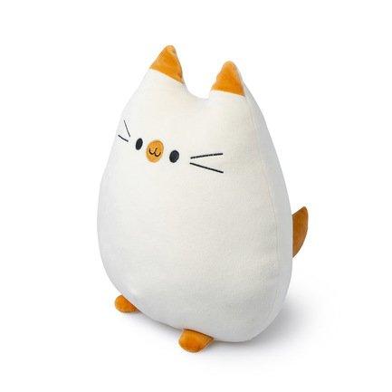 Подушка диванная Sweet Kitty, 20х10х32 см белая