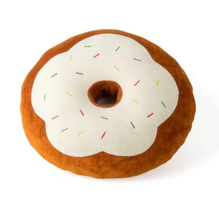Подушка диванная Yummy, 38х10 см, коричневая