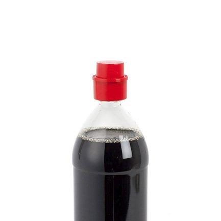 Пробка для газированных напитков Fizzy, 4.5х4.7 см, красная