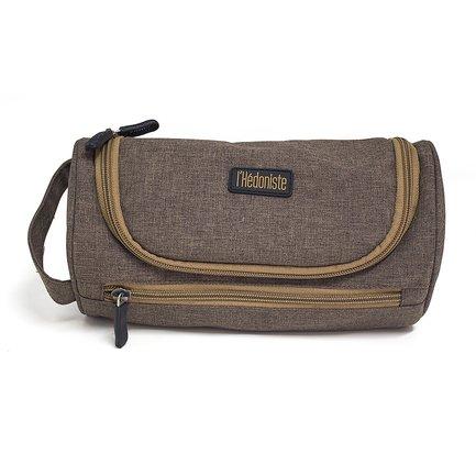 Сумочка для туалетных принадлежностей l'Hedoniste, 23х11х11 см, коричневая 26699 Balvi сумочка для хранения детских принадлежностей игуана 3sprouts ут 00007055