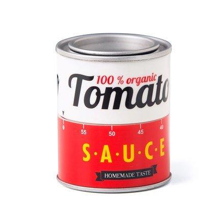 Таймер механический Tomato Sauce, 5.8х7 см, красный