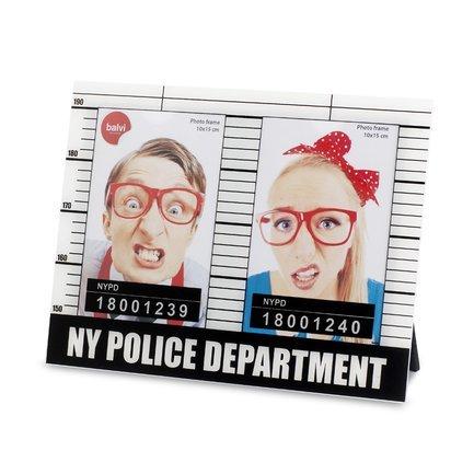 Фоторамка NYPD 10x15, 25.7х19.4х0.8 см, белая