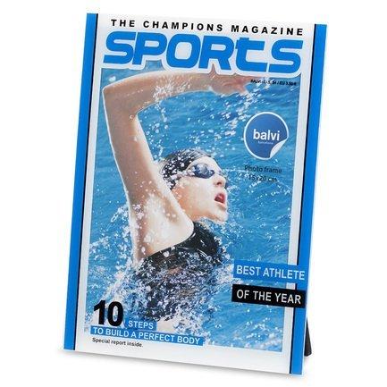 цена на Фоторамка Sports 15x20, 16.5х21.9х0.8 см, синяя 25672 Balvi