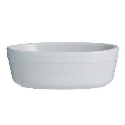 Блюдо для запекания овальное William Mason, 17х10.5х6 см, белое 2002.096 Mason Cash