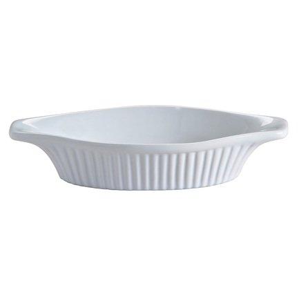 Блюдо для запекания Classic, 22х11х4.5 см, белое 2001.541 Mason Cash