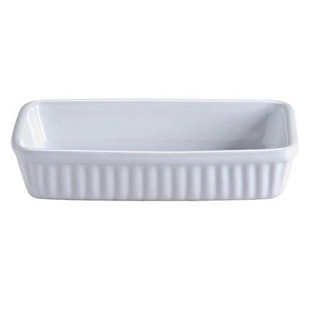 Блюдо для запекания прямоугольное Classic, 18х11х3.5 см, белое 2001.543 Mason Cash