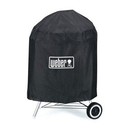 Чехол для угольных грилей Premium, 47 см, черный 7141 Weber чехол для грилей pulse 2000 черный 7140 weber