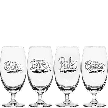 Набор бокалов для пива Club (420 мл), 4 шт 5017327 Sagaform