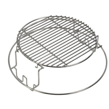 Решетка стальная мультиуровневая для гриля L 120755 Big Green Egg