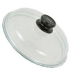 Крышка стекланная с жаропрочной ручкой и пароотводом, 28 см
