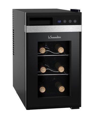 Шкаф для подготовки вина к подаче Vinosphere, монотемпературный, 8 бутылок LS8K La Sommeliere дверь для шкафа дейли 40х92 см