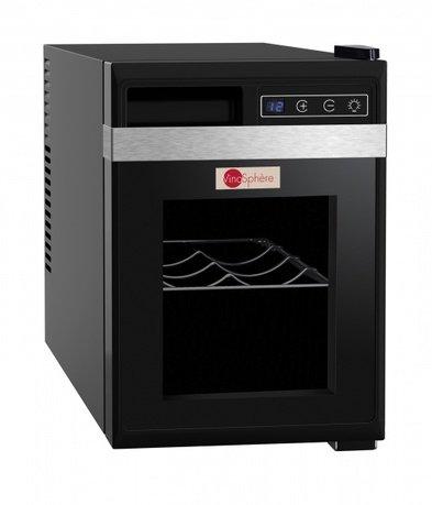 Шкаф для подготовки вина к подаче Vinosphere, монотемпературный, 6 бутылок VN6K La Sommeliere дверь для шкафа дейли 40х92 см