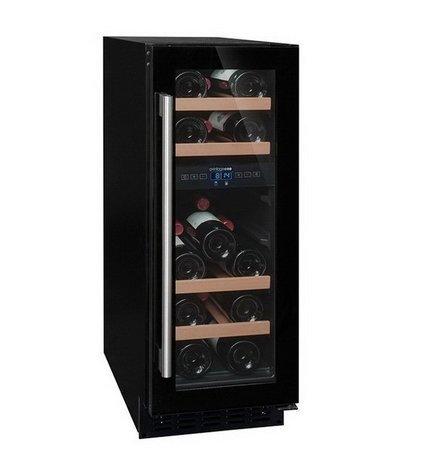 Шкаф для подготовки вина к подаче, двухзонный, 17 бутылок AVU18CDZA Climadiff