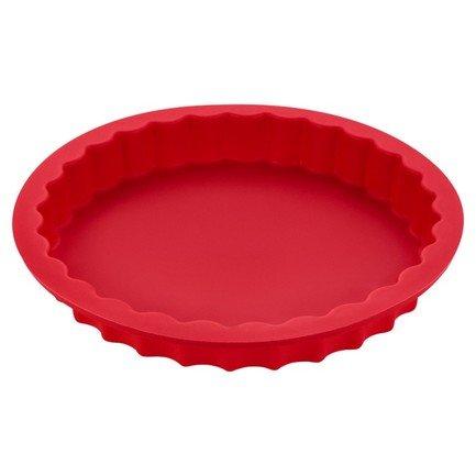 Форма для выпечки Casa forno силиконовая, 22.5 см, красная S07-033-R Guffman