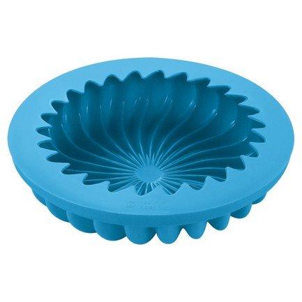 Форма для выпечки Casa forno силиконовая, 20х4.5 см, голубая S07-042-B Guffman
