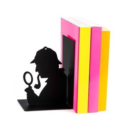 Держатель для книг Sherlock, 12x10x17, черный 27037 Balvi