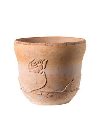 Кашпо Fiora Vaso, 30х25 см, коричневое