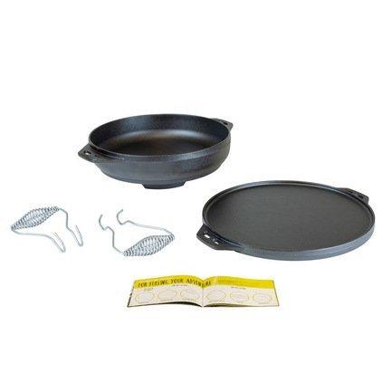 Набор посуды многофункциональный, 4 пр., черный L14CIA Lodge