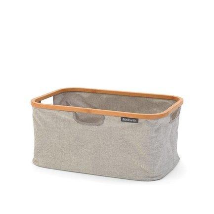 Складная корзина для белья, 54х36х26.5 см