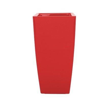 Кашпо Pisa, 14х14х25 см, красное глянцевое 800470 Artevasi кашпо pisa 20х20х40 см белое глянцевое 800357 artevasi