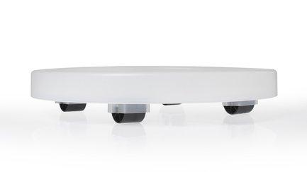 Подставка на колесах, 40х6.2 см, прозрачная