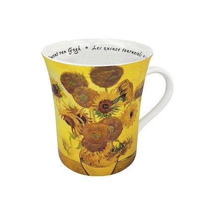 Кружка Цветы Ван Гог (410 мл), 9.8 см 11 1 100 0689 Konitz кружка цветы моне 410 мл 9 8 см 11 1 100 0693 konitz