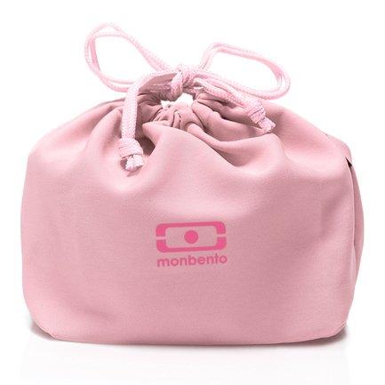 Мешочек для ланча MB Pochette litchi, 28.5х20х2 см, розовый 1002 02 266 Monbento недорого