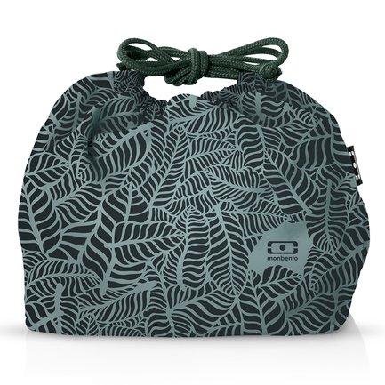Мешочек для ланча MB Jungle, 28.5х20х2 см, зеленый 1002 02 430 Monbento