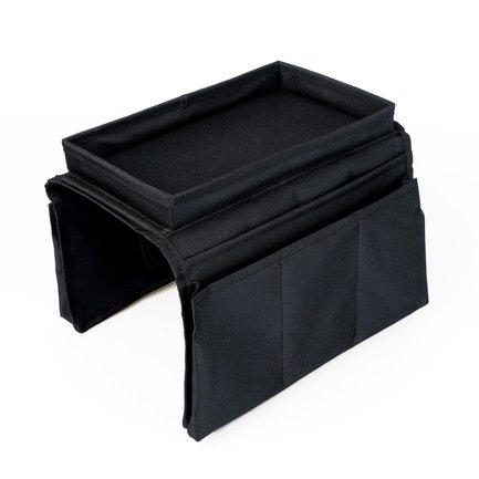 Органайзер на подлокотник дивана Sofa Master, 18х22.5х30 см, черный
