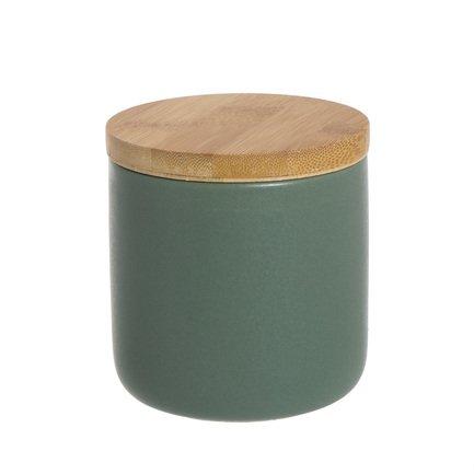 Стакан для ватных дисков Oscuro, 8х9 см, зеленый 2293598 D'casa