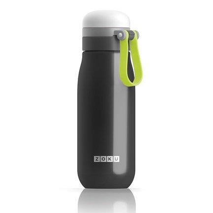 Бутылка вакуумная (500 мл), черная ZK203-BK Zoku
