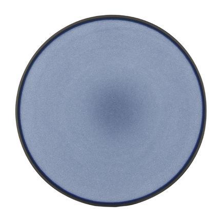 Тарелка десертная Equinoxe Blue, 21.5х2.5 см, синяя