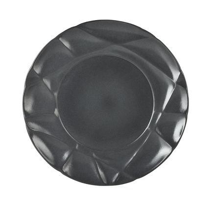 Тарелка десертная Succession Black, 21х2.2 см, черная