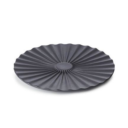 Блюдце Pekoe, 14х1.3 см, черное 653630 Revol