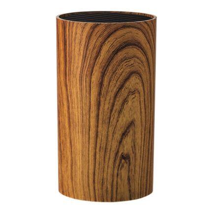 Подставка для ножей круглая, Aspen Wood, 9х9х16 см