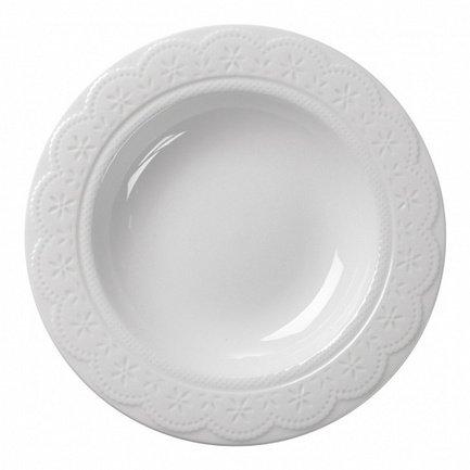Тарелка суповая Charlotte, 22 см